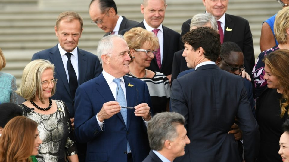 Malcolm Turnbull at G20