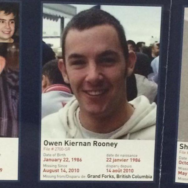 Owen Rooney remains found in Canada