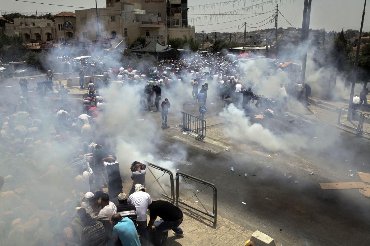 Palestinian Israeli clash