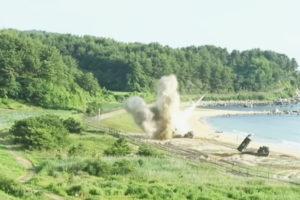 US Korea missile drill