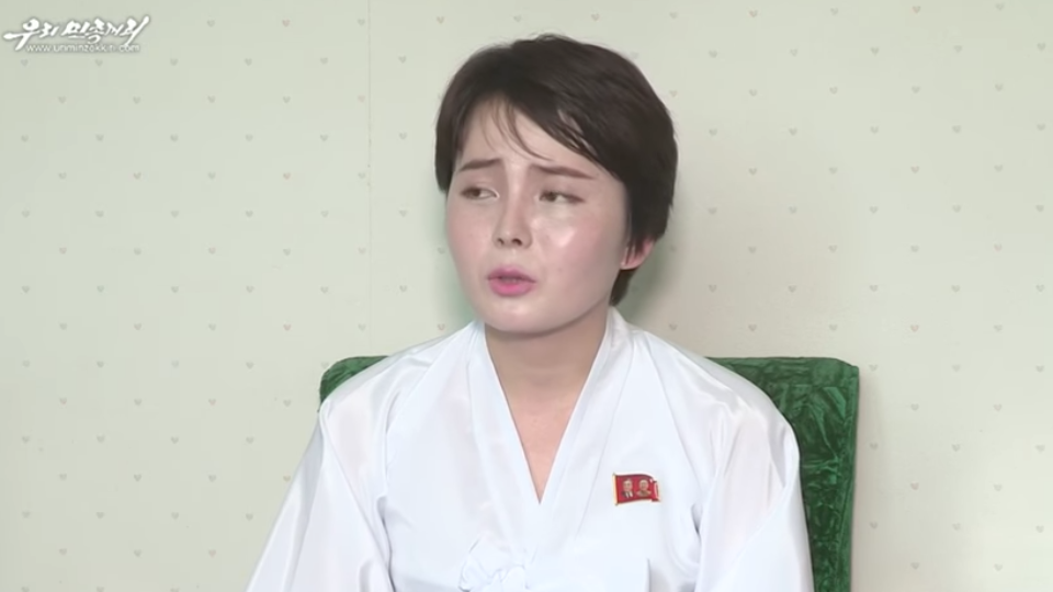 North Korean defector appears in a propaganda video for the secretive state after fleeing to the South, prompting abduction fears.