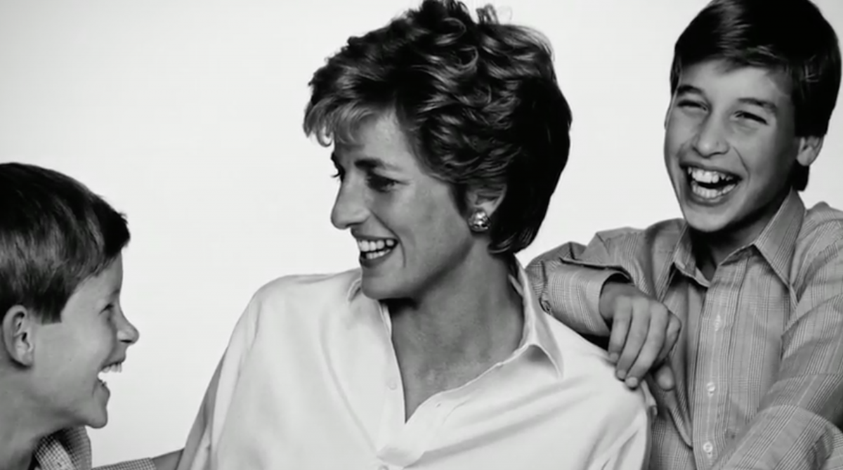Duke of Cambridge and Prince Harry's private snaps of Princess Diana