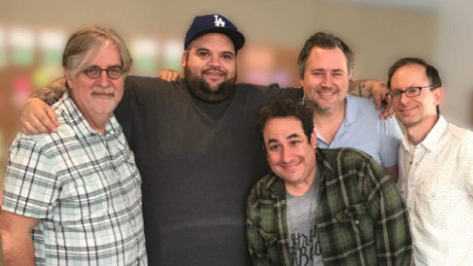 Briggs' collaboration with Matt Groening