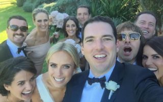 Sylvia Jeffreys and Peter Stefanovic's wedding