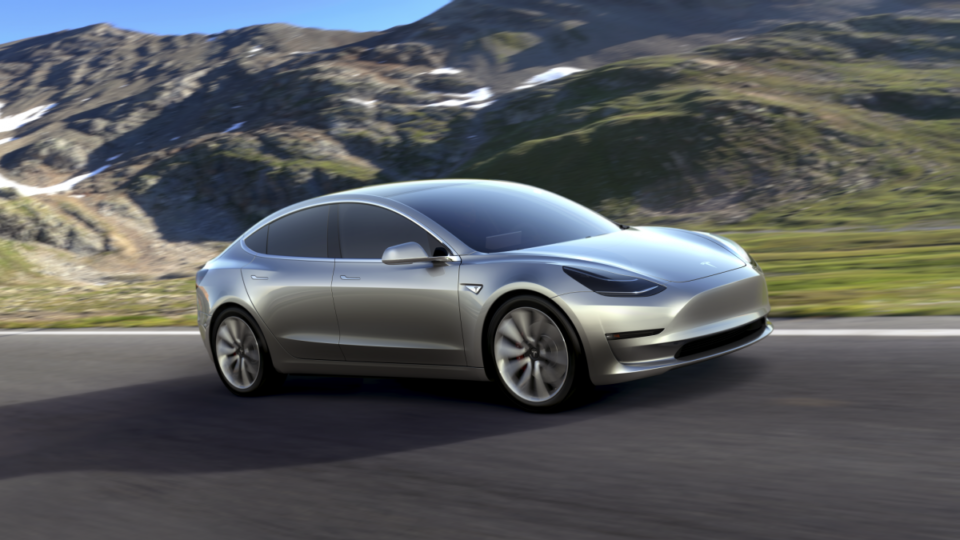 How much is a tesla car in australia