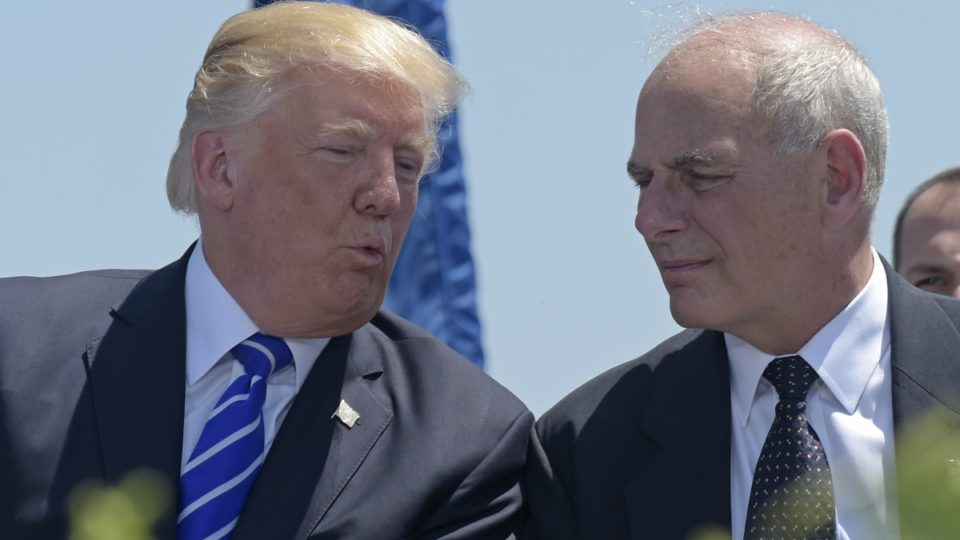 Donald Trump names John Kelly as new White House chief of staff