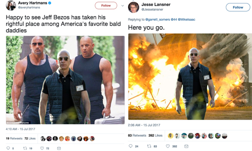 jeff bezos social media reaction