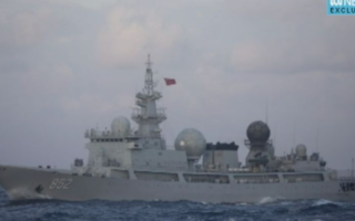 chinese spy ship