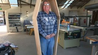 coffin guy