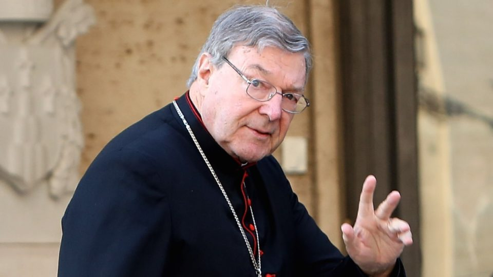 Cardinal George Pell spotted in Singapore en route to Australia