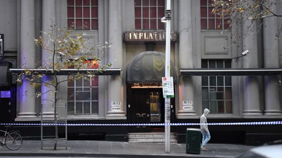 Two shot by police during swingers ball at Melbourne nightclub