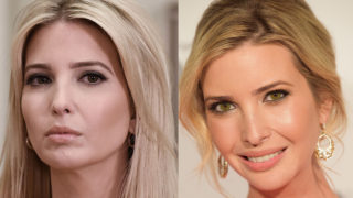 ivanka trump eye colour