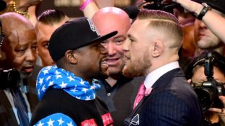 floyd mayweather v conor mcgregor press conference