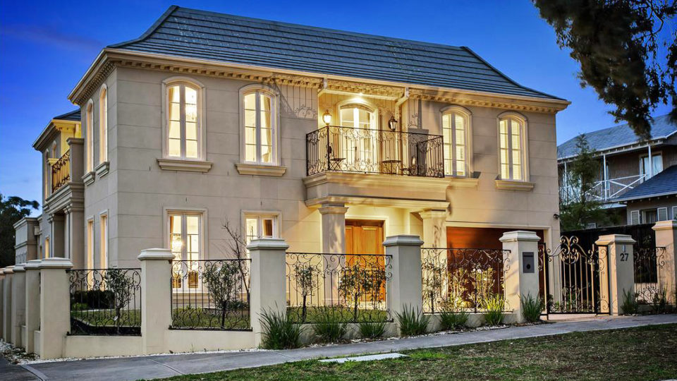 French Style Mansion Zaps Melbourne Mid Winter Market
