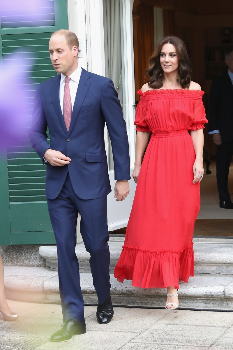 b3fcca1d1ba5 How one red dress signalled a style makeover for Kate Middleton