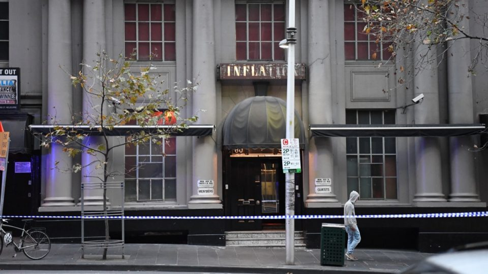 Two shot by police at Melbourne nightclub