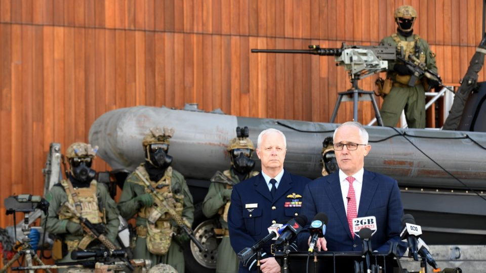 Malcolm Turnbull military