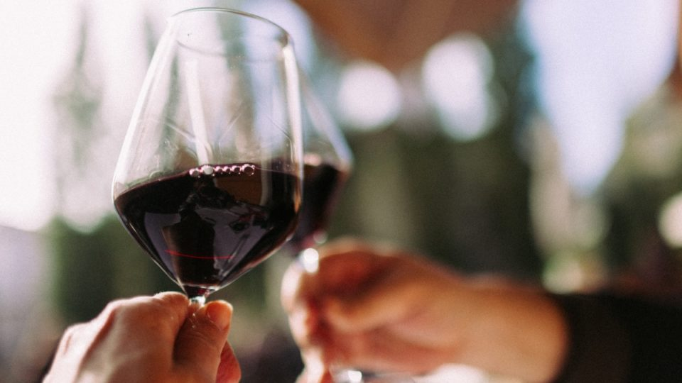 alcohol red wine blood pressure