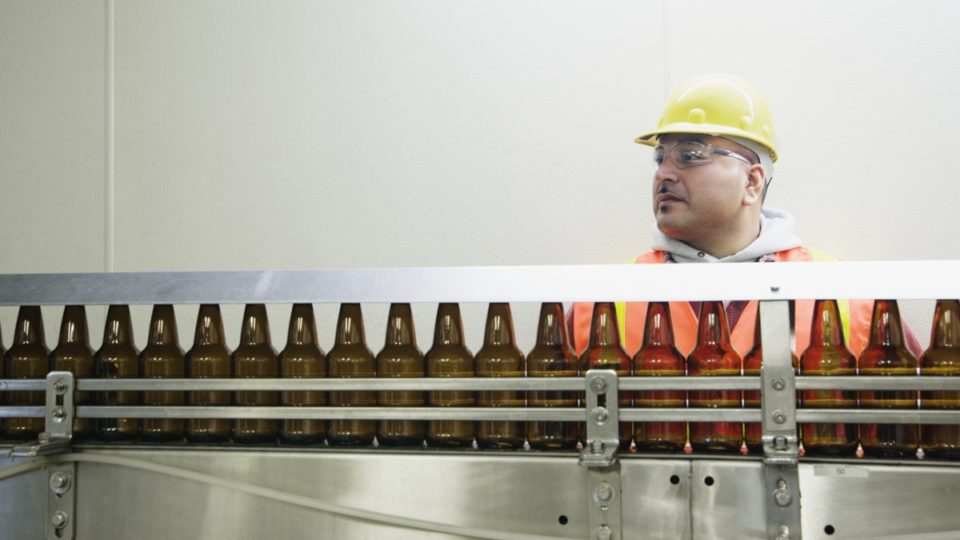 worker production line automation