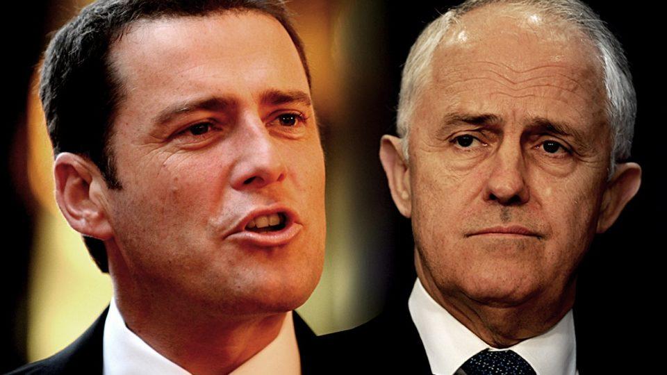 Karl Stefanovic and Malcolm Turnbull