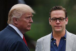 Donald Trump and James Murdoch