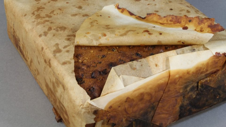 106-year-old fruitcake