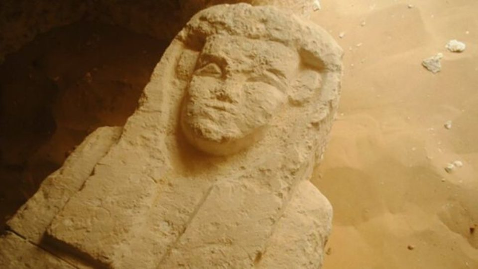 2000 year old Egyptian tomb
