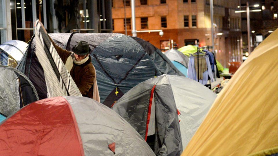 tent city sydney