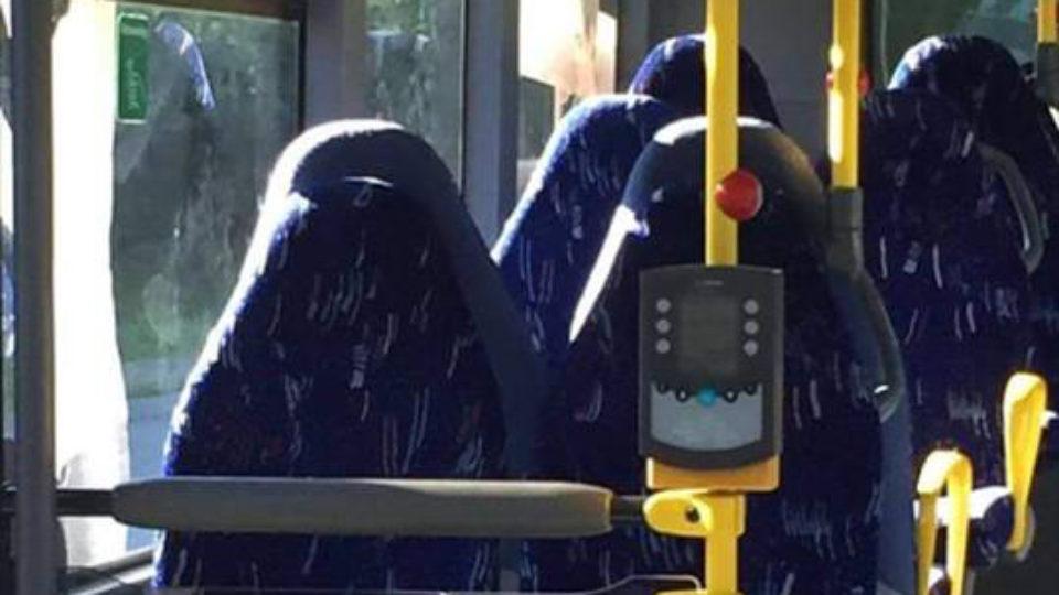 muslim bus seats