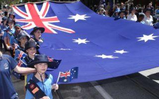 Australia Day Parade Melbourne