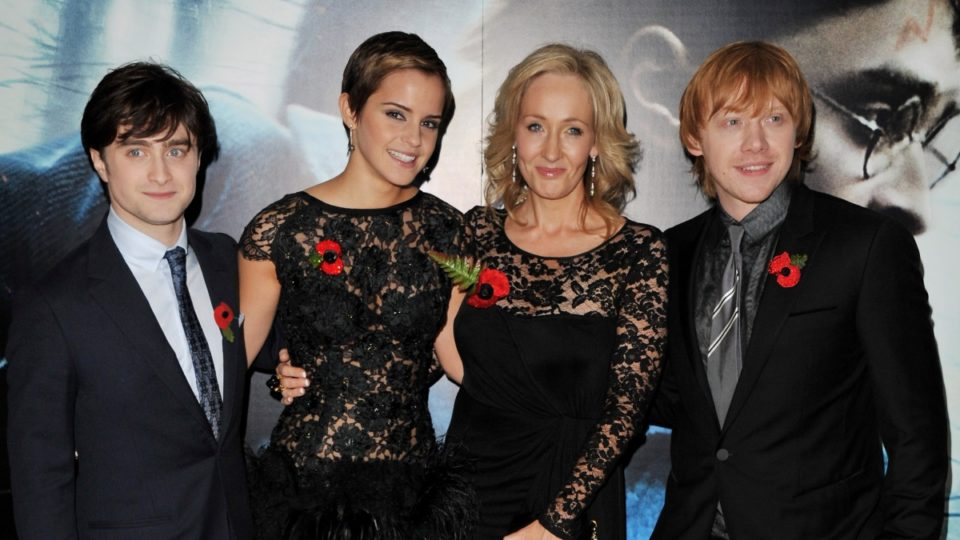 JK Rowling named world's highest-paid author by Forbes