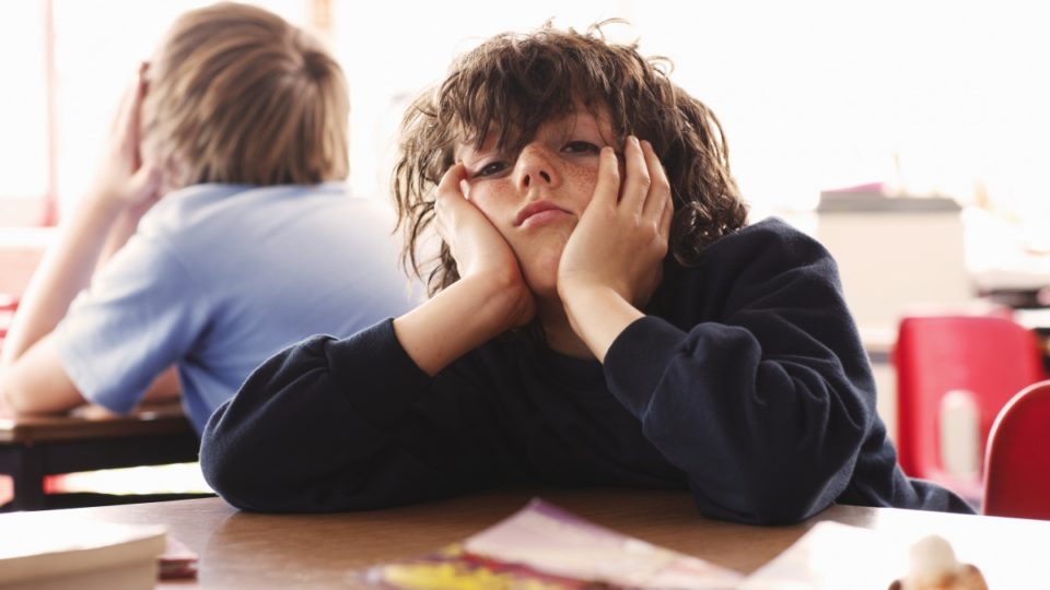 One in five boys are 12 months behind in school because of behavioural and emotional problems