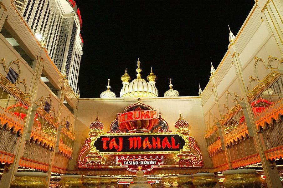 Taj Mahal Hotel trump