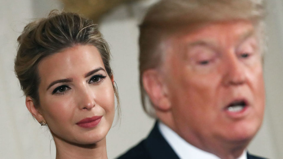 People are selling their second-hand Ivanka Trump brand items at growing rates, reports say