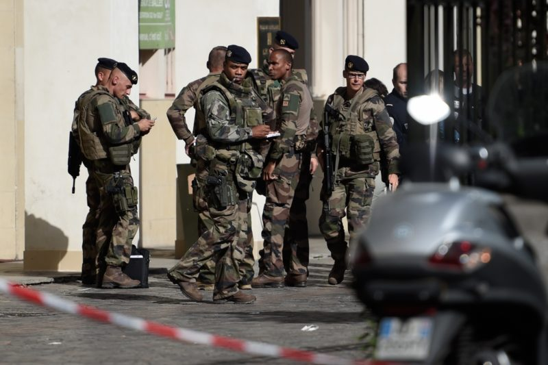 Paris soldiers attack