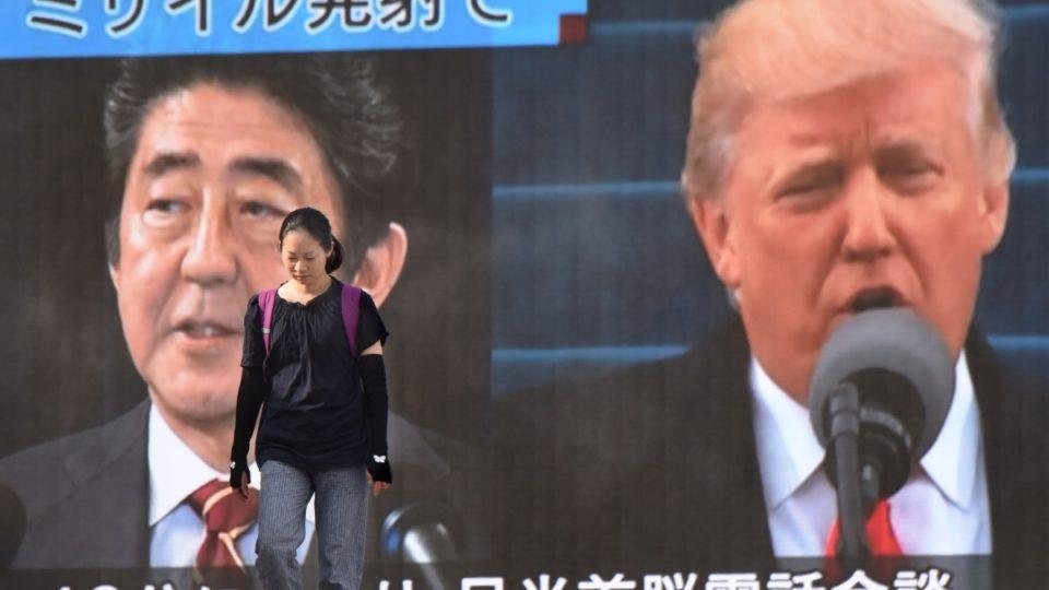 North Korea Trump missile