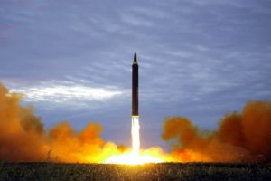 North Korea crisis missile