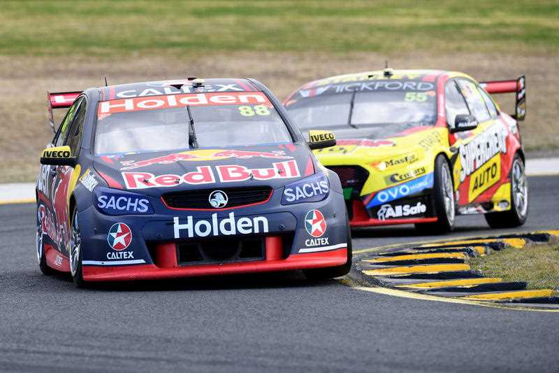 Coulthard wins amid Kiwi Supercars bust-up