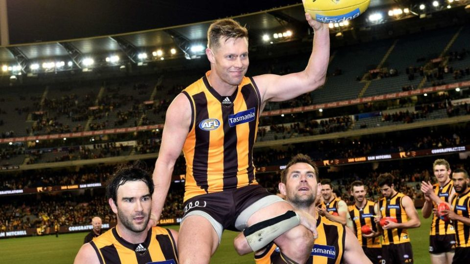Sam Mitchell chaired off