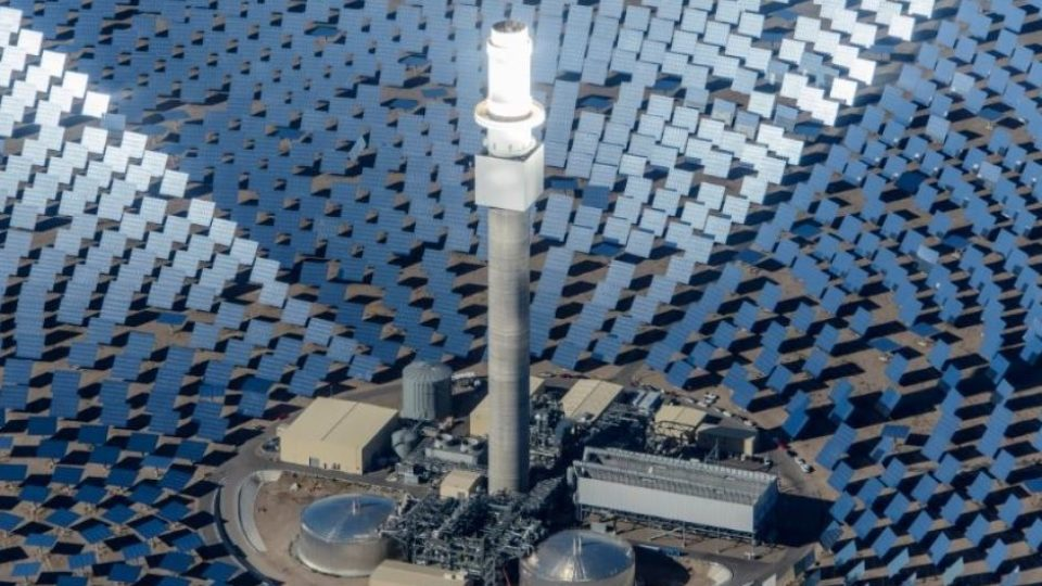 Former Coal City to Build Largest Solar Thermal Plant