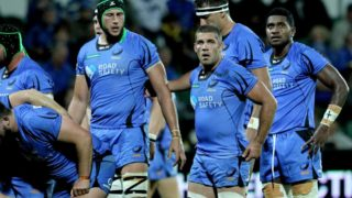 Western Force players during match against Hurricanes