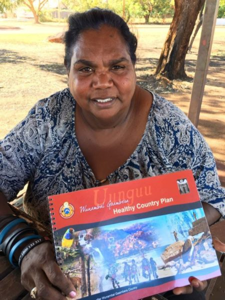 Wunambal Gaambera Aboriginal Corporation chair Catherine Goonack