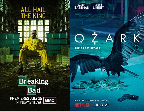 breaking bad ozark poster