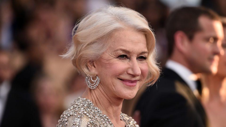 Helen Mirren says moisturiser does f--- all
