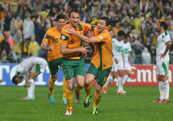 Josh Kennedy Socceroos