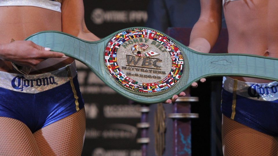 mayweather v mcgregor money belt
