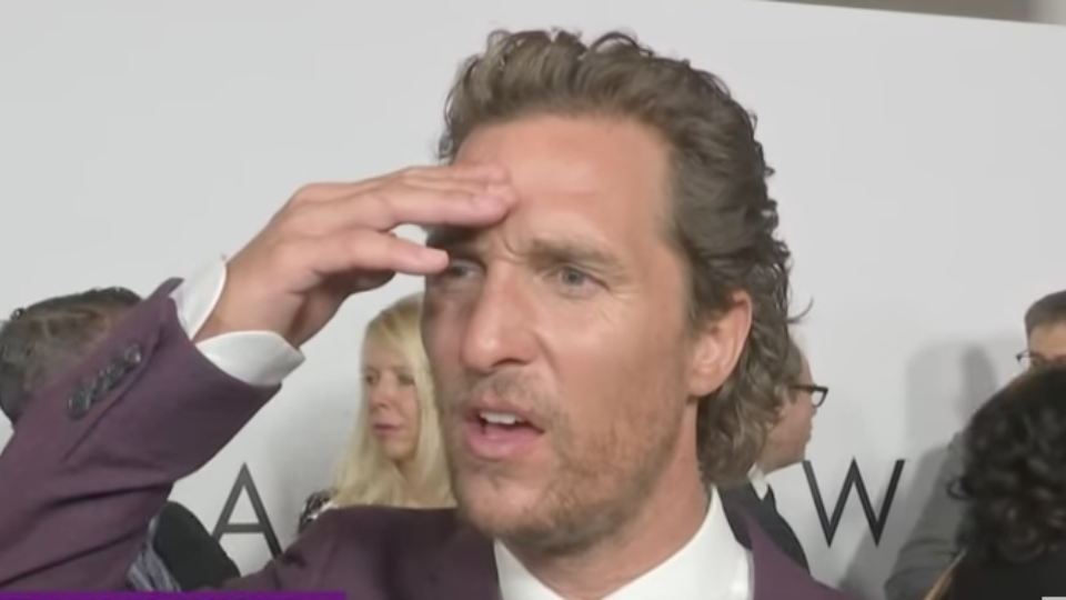 Matthew McConaughey hears news of Sam Shepard's death
