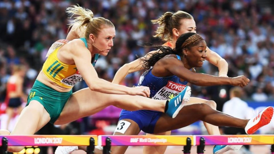 Sally Pearson wins World Athletics Championships