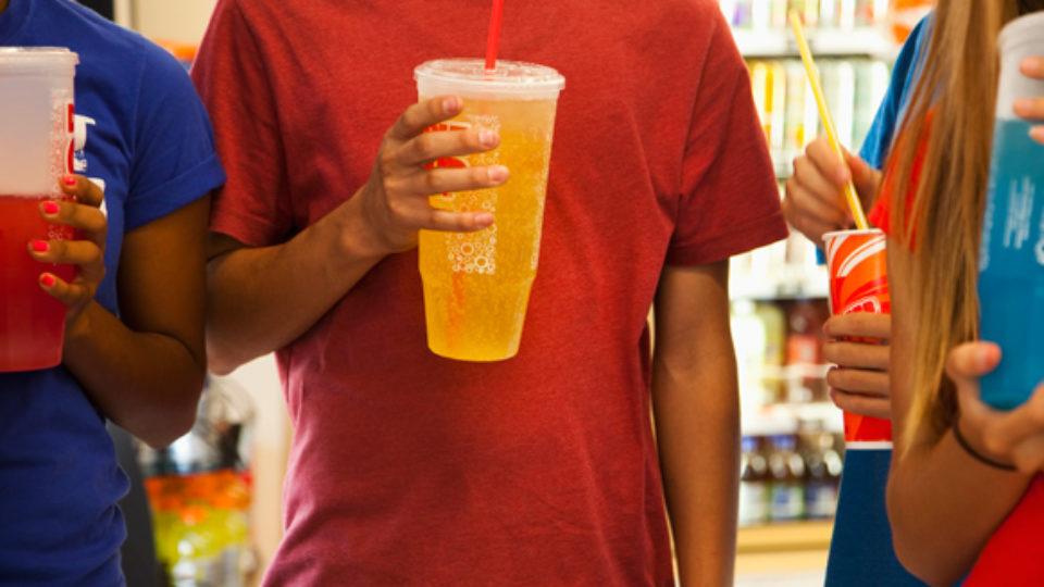 sugar soft drinks