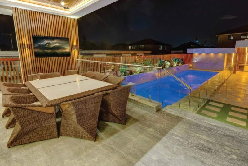 swimming pool in Mehajer mansion